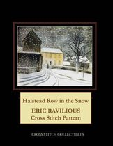 Halstead Row in the Snow: Eric Ravilious Cross Stitch Pattern