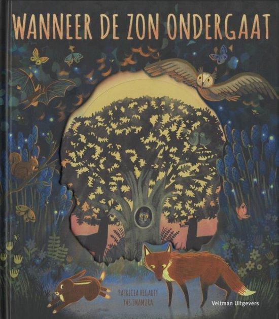 Boek cover Wanneer de zon ondergaat van Patricia Hegarty (Hardcover)