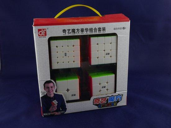 Afbeelding van het spel Speed Cube Pack 2x2 3x3 4x4 5x5
