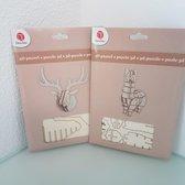 3D Puzzel Alpaca en Hert