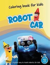 Robot Car Coloring Book for kids