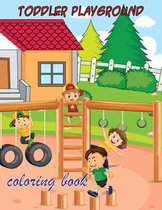 toddler playground coloring book