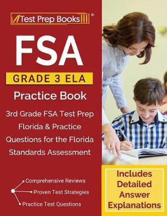 FSA Grade 3 ELA Practice Book