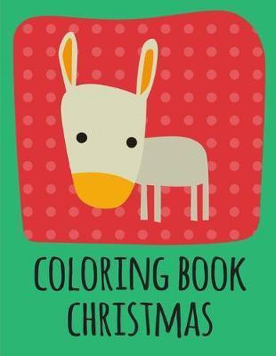 coloring book christmas