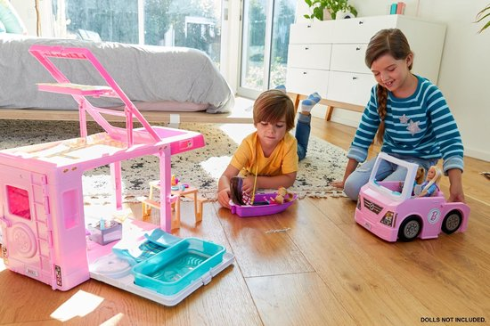 Barbie 3-in-1 DroomCamper & Accessoires