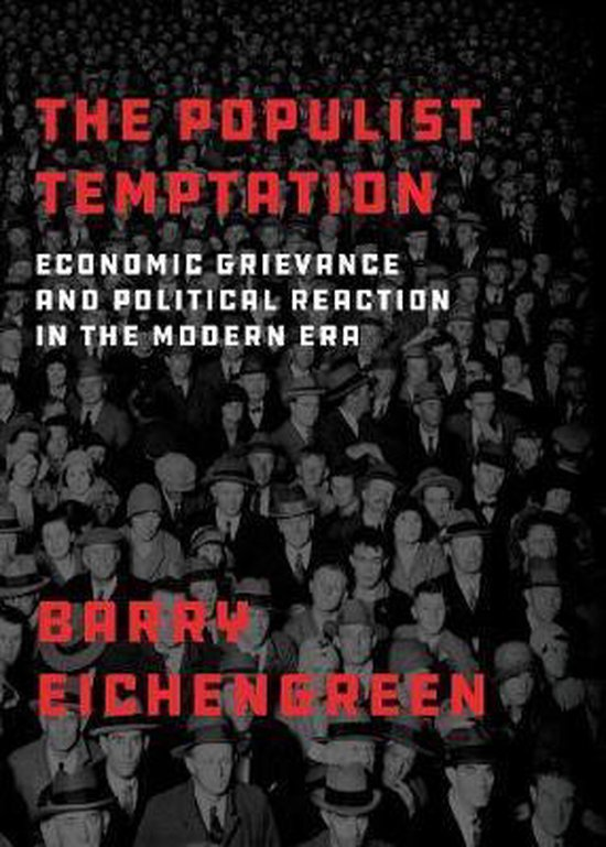 Boek cover The Populist Temptation van Barry Eichengreen (Paperback)