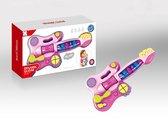 Speelgoed Gitaar met Geluid – Peuter | Gitaar Speelgoed Kind | Kindergitaar Meisje | Speelgoed gitaar met geluid – kleine kinderen