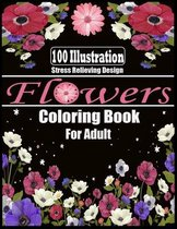 Flowers Coloring Book for Adult