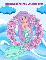 Magnificent Mermaid Coloring Book