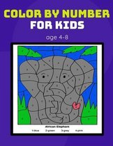 color by number for kids age 4-8