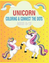 Unicorn Coloring & Connect the dots ages 8-12