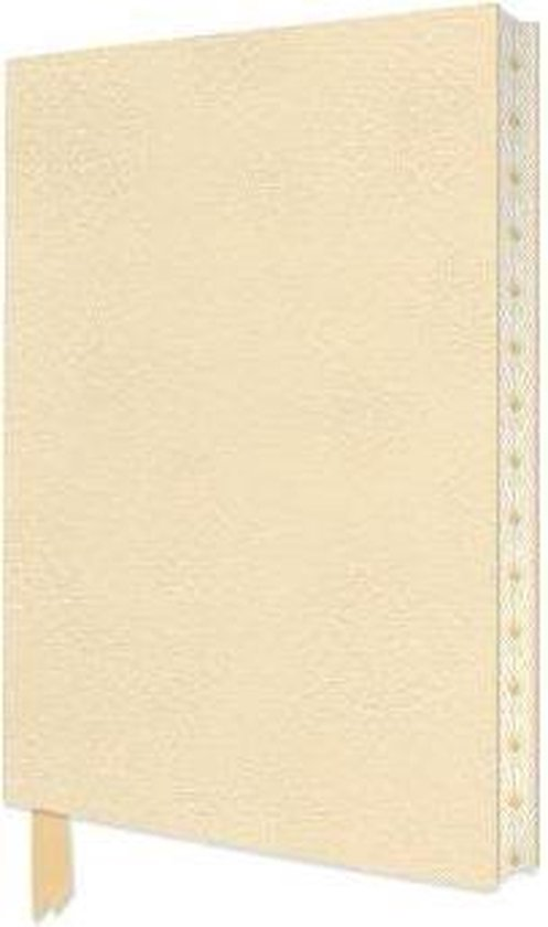 Ivory White Artisan Notebook (Flame Tree Journals)
