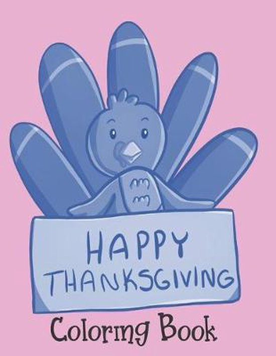 Happy Thanksgiving - Coloring Book