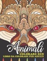Colorare Zen Animali