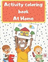 activity coloring book at home