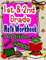1st and 2nd Grade Math Workbook Addition and Subtraction