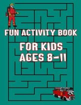 Fun Activity Book For Kids Ages 8-11
