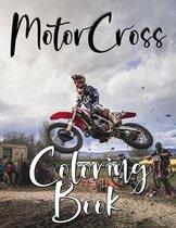 MotorCross Coloring Book