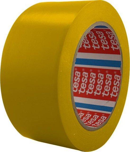 Vloermarkeringstape 5cm (Geel)