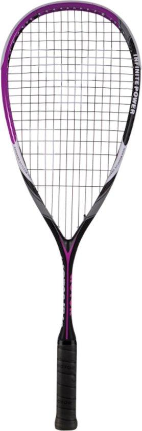 Victor IP 10 Squashracket - Zwart / Roze - maat One size