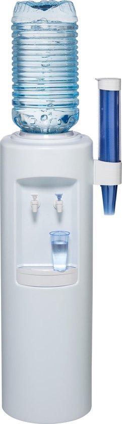 Koelkast: Atlantic wit waterdispenser/waterkoeler - koud en ongekoeld water tapkranen, van het merk Coolwater