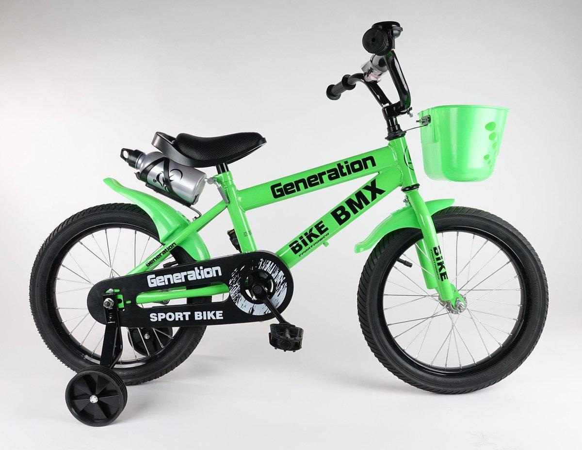 """""""Generation BMX fiets 14"""""""" Groen"""""""
