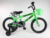 """Generation BMX fiets 14"""" Groen"""