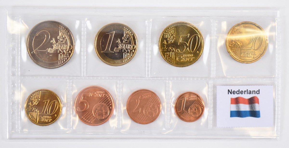 Hartberger Eurostrips 100x voor Euromunten - verpakkingstrip - Eurohoesjes - hoesjes voor Euro munten - strips voor serie euromunten - blister