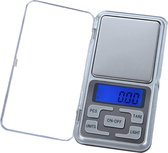 Digitale Precisie Keukenweegschaal - Van 0.01 tot  200 Gram - Zilver