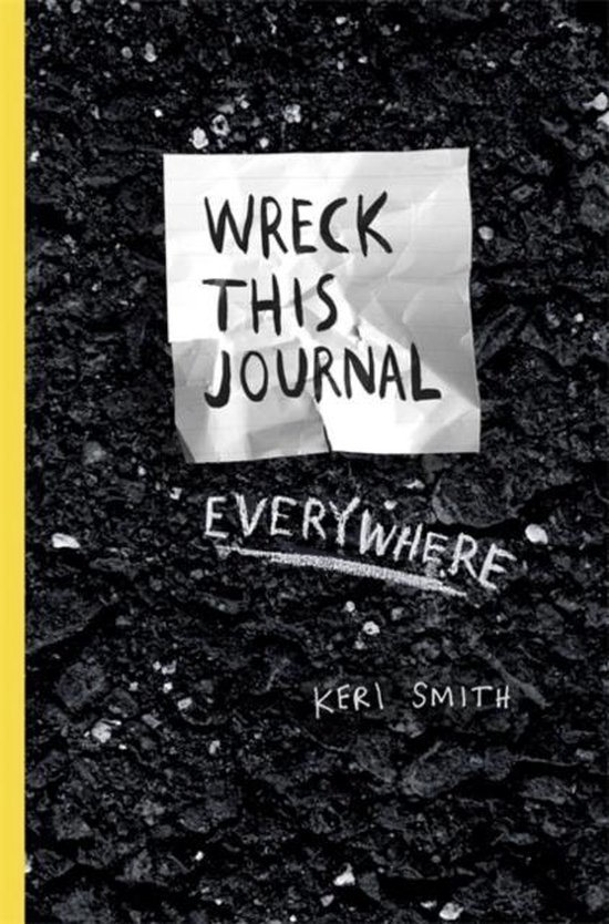 Boek cover Wreck This Journal Everywhere van K. Smith (Paperback)