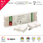 iCasa 4-in-1 Zigbee 3.0 - LED controller - Dimmer - 12-24V
