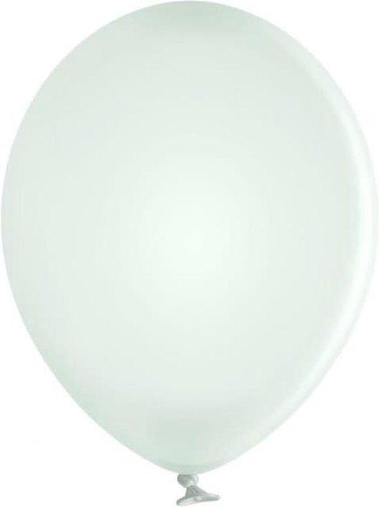 Ballon B85 Pastel Wit - 50 Stuks