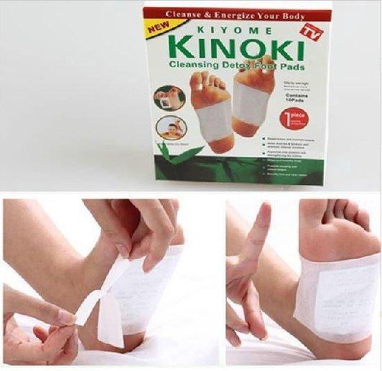 10 x Detox pleisters pads   detox foot pads   Afslankpleisters voetpleisters   Afslanken , ontgiften en reiniging  voor het lichaam