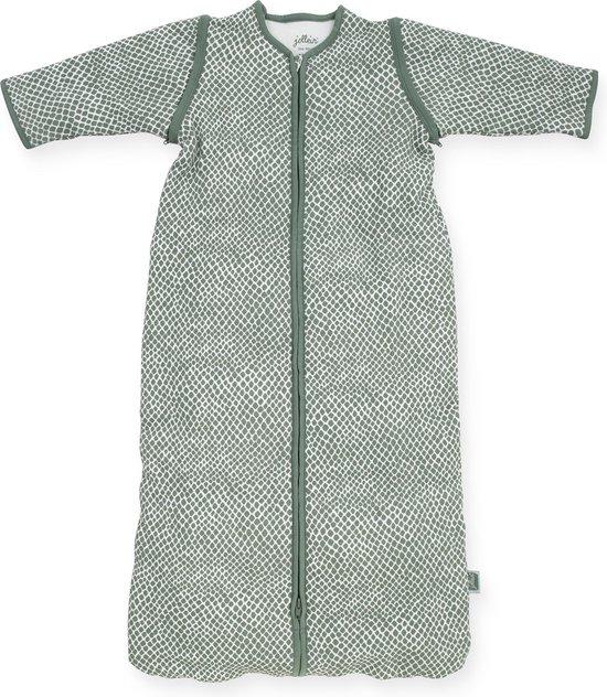Product: Jollein Baby slaapzak 110cm Snake - Met Afritsbare Mouw - ash green, van het merk Jollein