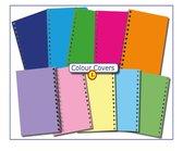 CitrusPers Cover Setje nr.1 - kleur - voor LOS bij te bestellen Schoolagenda A5