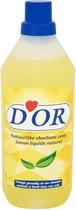 D'OR Vloeibare Zeep Natuurlijk Reinigt Grondig Al Uw Vloeren - Maakt Mooier & Voedend - Verwijdert Vlekken - 1Liter