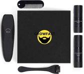 Growfast Ultimate Growkit - Baardgroei Set - Baard - Baard Verzorging Set - Baardgroei - Baardolie - Dermaroller - Haargroei - Baardgroei Middel/Serum/Stimuleren - Beard Growth - Giftbox - Grooming Kit