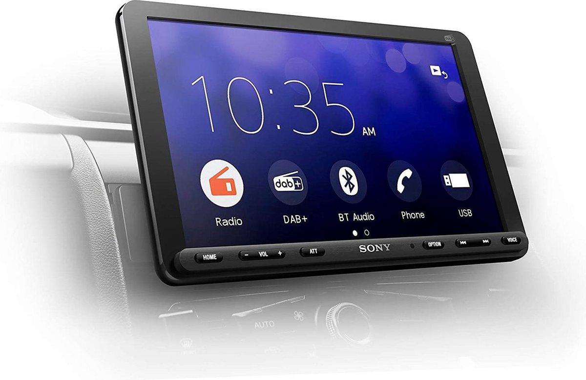 Sony XAV-AX8050D - Autoradio 1-Din Inbouw - Bluetooth - CarPlay - Android Auto - 22.7CM - XXL