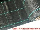 Gronddoek - Worteldoek 3,30M breed x 25M lang; 82,5M² + 50 GRATIS gronddoekpennen. Gronddoek = Europese top kwaliteit