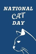 National Cat Day: October 29th- Kitty Cat Lovers - Gift For Cat Owners - Purr-fect - Whiskers - Tails - Furry Paws - Claws - Kittens - H