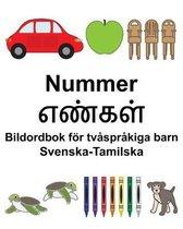 Svenska-Tamilska Nummer/எண்கள் Bildordbok foer tvasprakiga barn