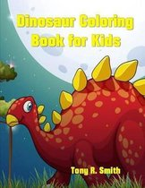 Dinosaur Coloring Book for Kids: 60 Fun Filled Pages