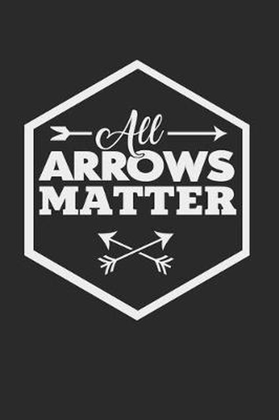 All arrows matter: 6x9 Archery - grid - squared paper - notebook - notes