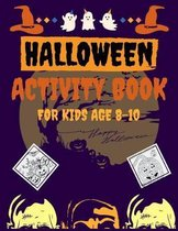 Halloween Activity Book for Kids Age 8-10
