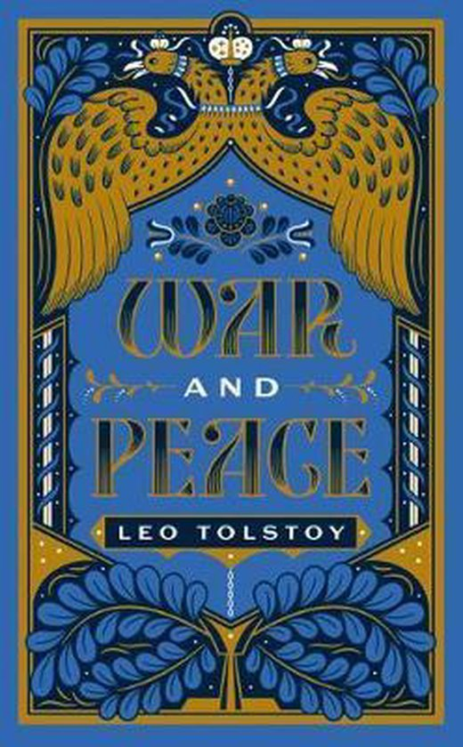 Boek cover War and Peace van Leo Tolstoy (Hardcover)
