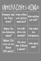 Unterrichts-Bingo: Lehrer-Kalender im DinA 5 Format f�r Lehrerinnen und Lehrer Organizer Schuljahresplaner f�r P�dagogen