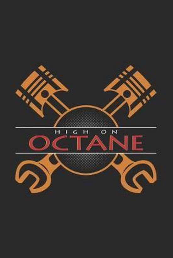 High on octane: 6x9 Engines - dotgrid - dot grid paper - notebook - notes