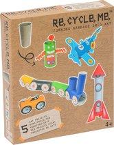 Re-Cycle-Me knutselpakket WC-rol