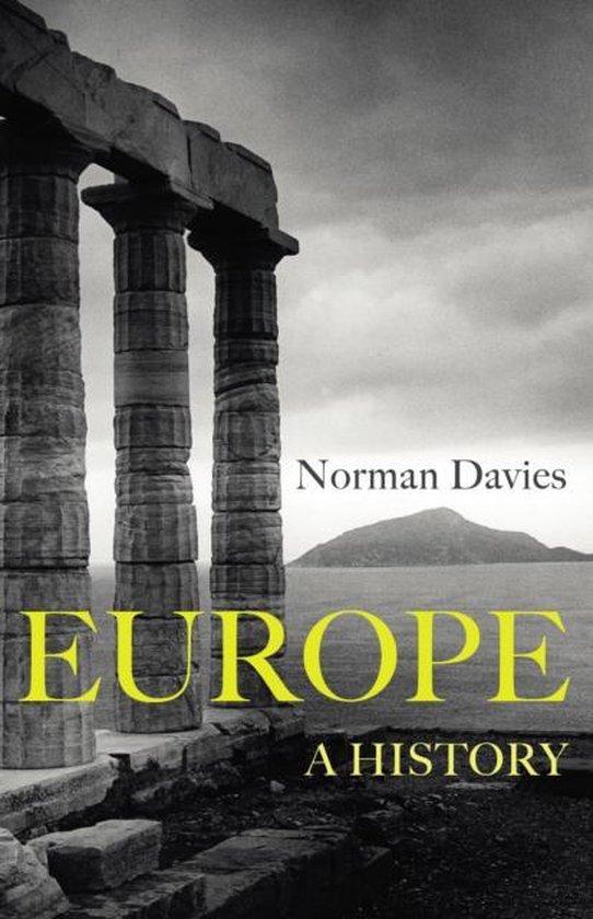 Boek cover Europe: a History van Norman Davies (Onbekend)