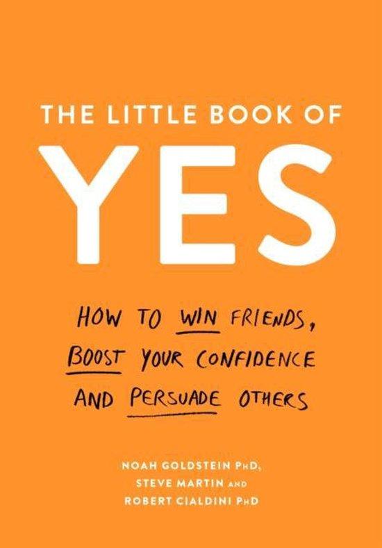 Boek cover The Little Book of Yes van Noah Goldstein (Paperback)